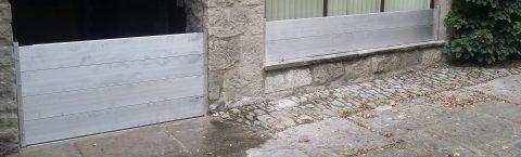 Flood barriers: